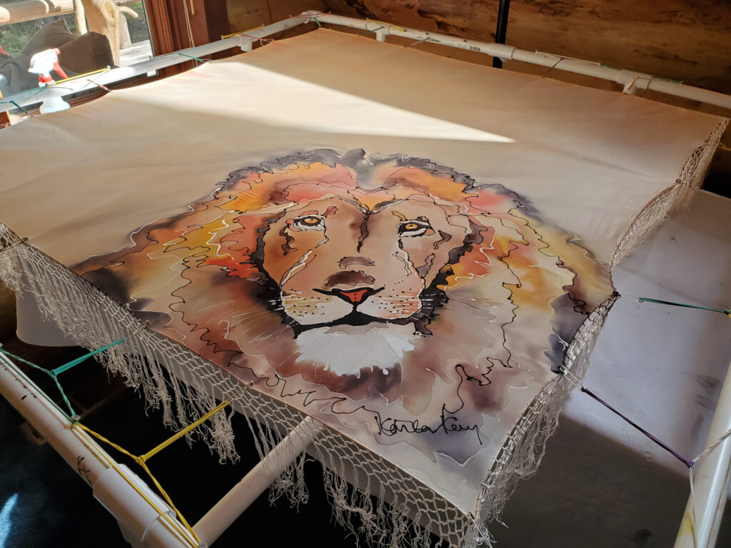 lion scaled